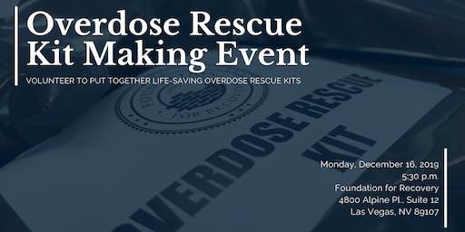 Overdose Rescue Kit Making Event