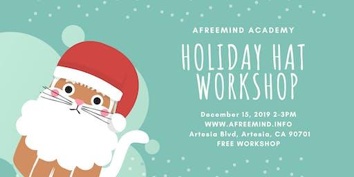 Holiday Hat Workshop for Kids