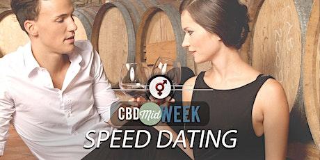 CBD Midweek Speed Dating   F 30-40, M 30-42   February tickets