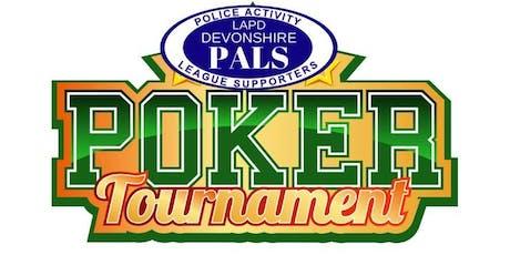 LAPD Devonshire PALS Charity Poker Tournament tickets
