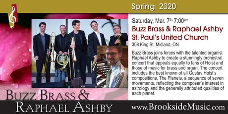 Buzz Brass & Raphael Ashby tickets