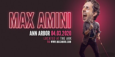 Max Amini Live in Ann Arbor - 2020 World Tour