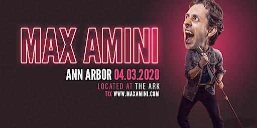 Max Amini Live in Ann Arbor - 2020 World Tour