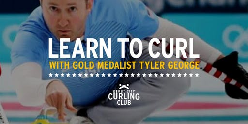 Learn to Curl Class with Gold Medalist Tyler George