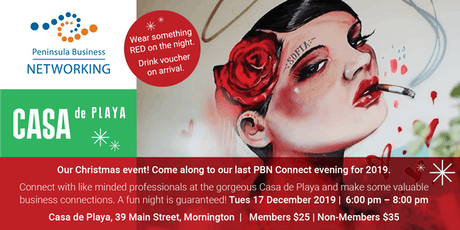 Christmas Event at Casa da Playa tickets