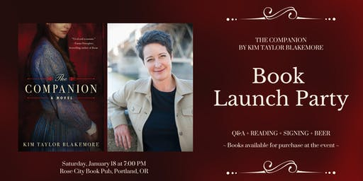 Book Launch Party: THE COMPANION