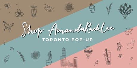 Shop AmadaRachLee Toronto Pop-Up tickets