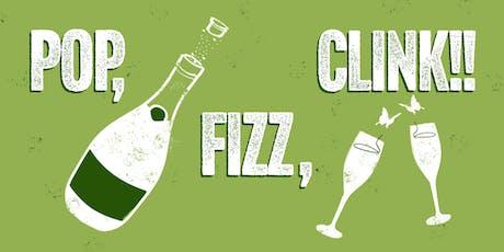 Pop, Fizz, Clink! Sparkling Natural Wine tasting at HB&K tickets