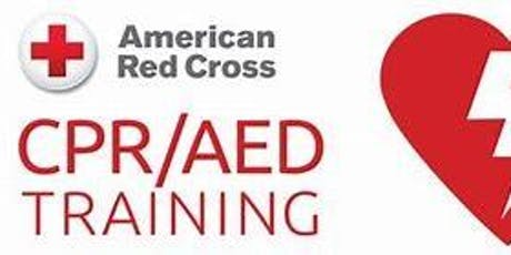 Free Community CPR/AED/1st Aid Training Class - Learn CPR to Save a Life tickets