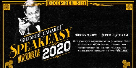 Biltmore Speakeasy NYE Party tickets