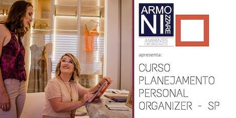 Planejamento para  Personal  Organizer SP ingressos