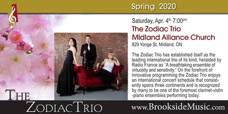 The Zodiac Trio tickets