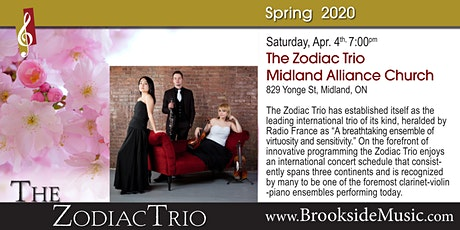 The Zodiac Trio tickets