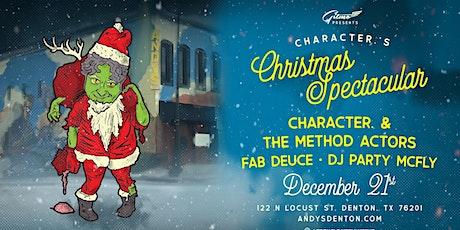 Character. & The Method Actors + Fab Deuce @ Andy's Bar (Venue) tickets