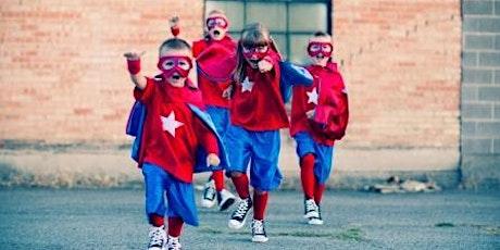 Superhero Training tickets