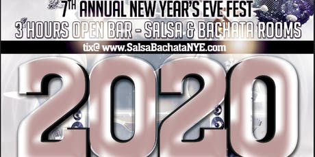 Salsa/Bachata New Years Eve Festival! - Two Rooms! tickets