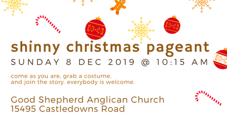 Shinny Christmas Pageant tickets