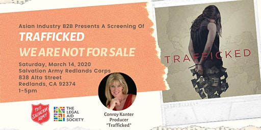 "AIB2B Presents A Screening Of ""Trafficked"""
