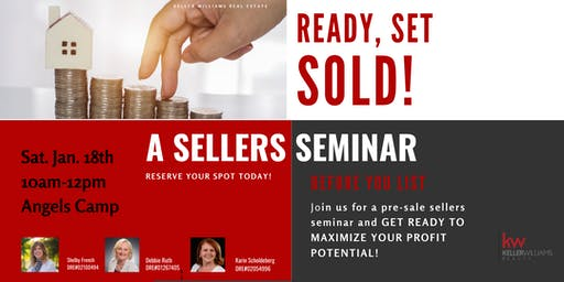A Pre-Sale Sellers Seminar
