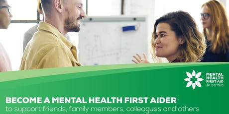 Standard Mental Health First Aid Course (2 days) 5 & 6 Dec Northbridge tickets