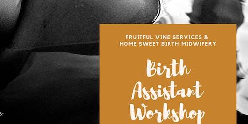 Central Alabama Birth Assistant Workshop