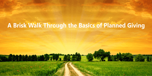 A Brisk Walk Through the Basics of Planned Giving