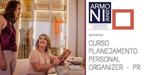 Planejamento para  Personal  Organizer PR