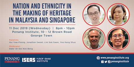 Nation and Ethnicity in the Making of Heritage in Malaysia and Singapore tickets