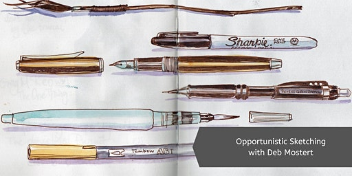 Opportunistic Sketching with Deb Mostert (2 Days)