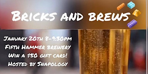 Bricks and Brews- Adult LEGO Night