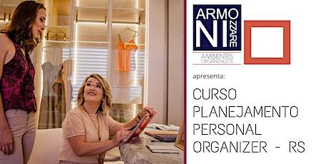 Planejamento para  Personal  Organizer RS ingressos