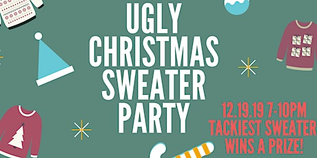 Ugly Christmas Sweater Party at The Old Plank tickets