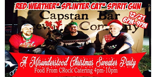 A Misunderstood Christmas Sweater Party W/ The Hotboys!
