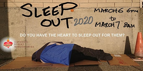 SLEEP OUT 2020 tickets