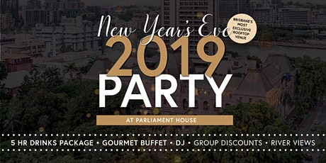New Years Eve at Parliament House tickets