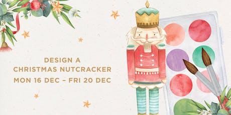 Design a Christmas Nutcracker tickets