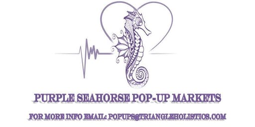 Purple Seahorse Pop-Up Markets