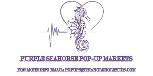 Purple Seahorse Pop-Up Markets