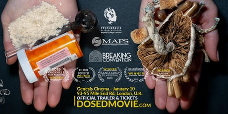 DOSED Documentary + Q&A - London Premiere - Genesis Cinema - One show only! tickets