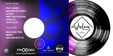 WeLove #229 // WeLove Recordings Release Party tickets