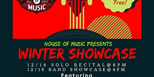 HOM Winter Weekend Showcase 2019!