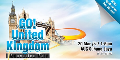 GO! UK Education Fair March 2020 tickets