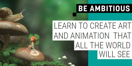 TAFE NSW 3D Art and Animation Info Fest