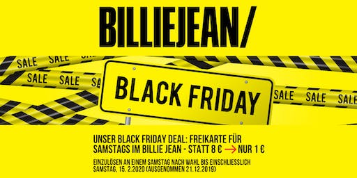 Billie Jean Black Friday Deal