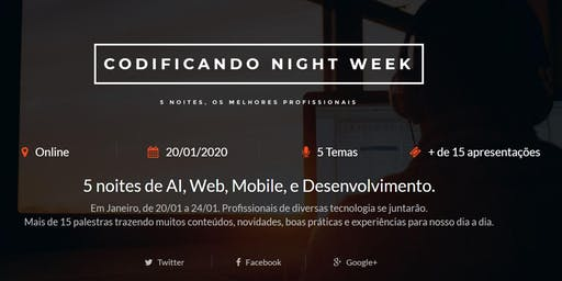 Codificando Night Week 2020