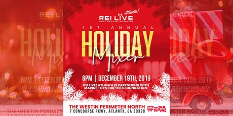 REI Live! Atlanta Presents 1st Annual Holiday Mixer  tickets