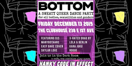 BOTTOM // HANKY CODE  tickets
