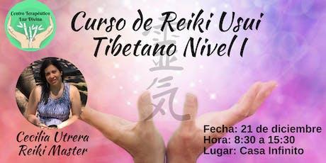 Curso de Reiki Usui Tibetano Nivel I entradas