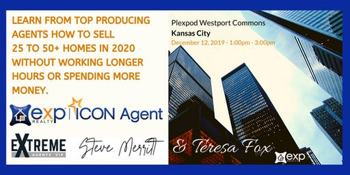 LEARN FROM TOP PRODUCING AGENTS HOW TO SELL 25 TO 50+ HOMES IN 2020