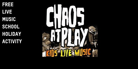 Free School Holiday Activity Inverloch Library : Chaos at Play tickets